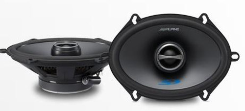 Alpine 5x7 Coaxial 2-Way Speakers Set - SPS-517