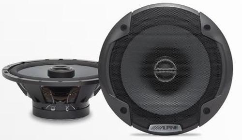 Alpine 6.5  Coaxial 2 Way Speaker Set - SPE-6000
