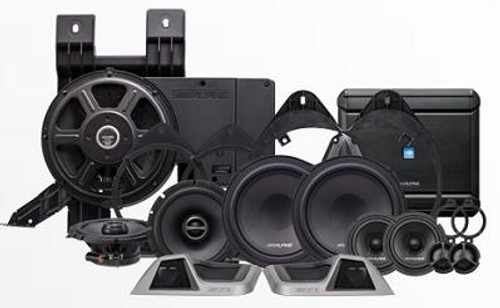 Alpine Sound System for 2014 - up Chevrolet Silverado & GMC Sierra