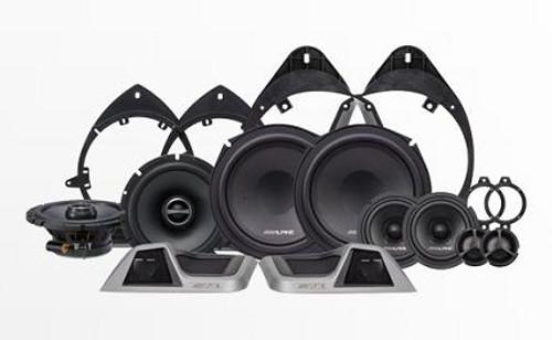 Alpine 3-Way Speaker System for 2014-Up Chevrolet Silverado & GMC Sierra