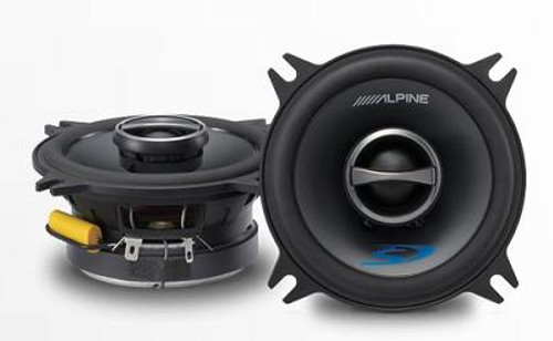 "Alpine 4"" Coaxial 2-Way Speaker Set - SPS-410"