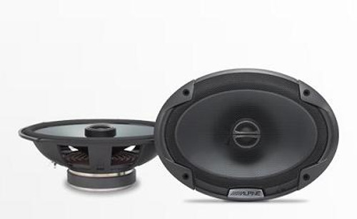 Alpine 6x9 Coaxial 2-Way Speaker Set - SPE-6090