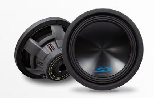 """Alpine S-W12D4 12"""" Dual-Voice-Coil 4-Ohm Subwoofer - S-W12D4"""