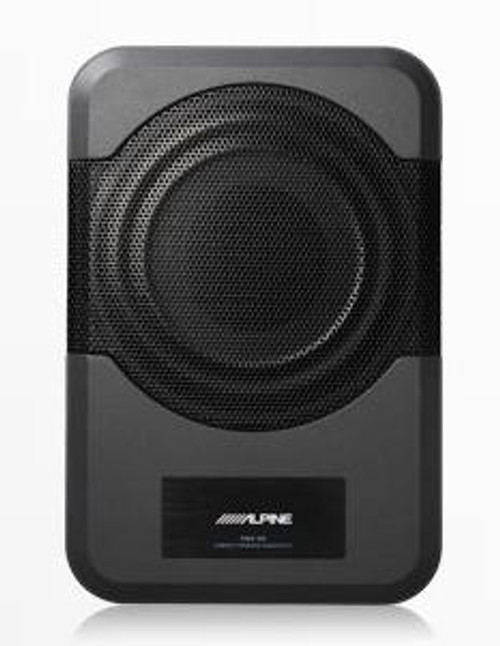 """Alpine Compact Powered 8"""" Subwoofer System - PWE-S8"""