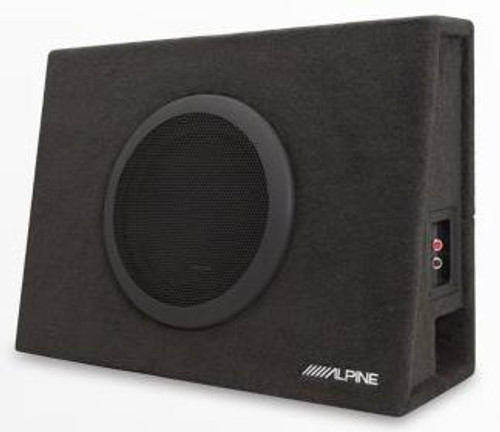 "Alpine Truck Enclosure with 10"" SWT Subwoofer SBT-S10V"