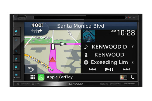 "Kenwood Excelon 6.8"" Navigation DVD Receiver and Radio - DNX696S"