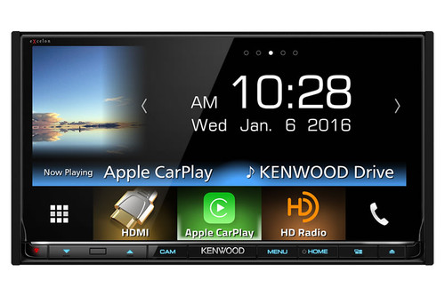 "Kenwood In-Dash 2-Din 6.95"" Monitor Receiver with Built-in Bluetooth and HD Radio - DDX9903S"