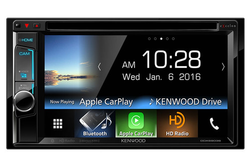 "Kenwood In-Dash 2-Din 6.2"" Monitor Receiver with Built-in Bluetooth and HD Radio - DDX6903S"