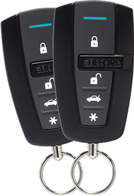 Clifford Car Remote Start System Entry Level 1 Way - 4105X
