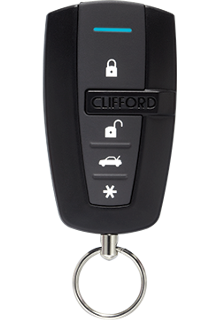 Clifford 2-Way Car Keyless Entry Remote Security Alarm System - 3305X