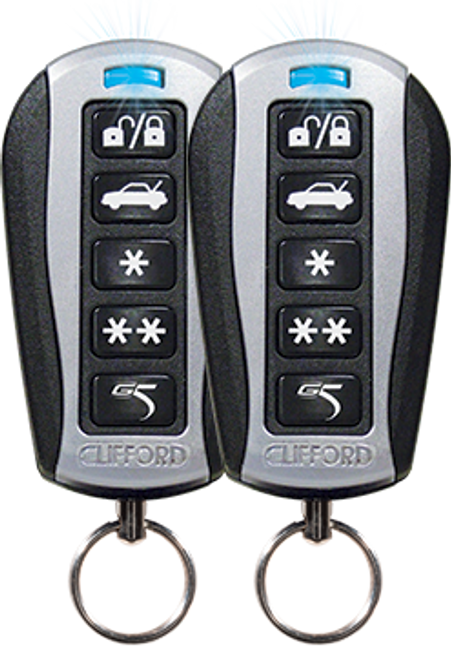 Clifford G5 AvantGuard 5.1  4 Channel Security / Remote Start System with Optional Keyless Entry