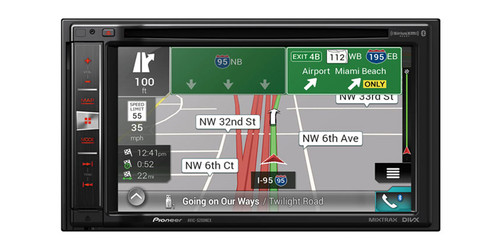 """Pioneer AVIC-5200NEX CAr In-Dash Navigation AV Receiver with 6.2"""" WVGA Touchscreen Display"""
