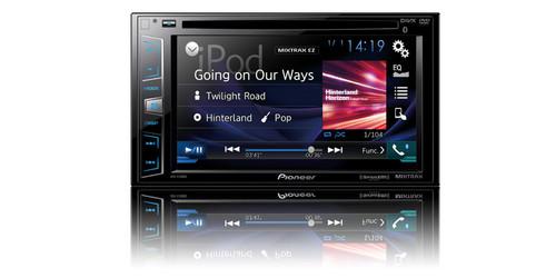 "Pioneer Multimedia DVD Receiver with 6.2"" WVGA Display AVH-X390BS"