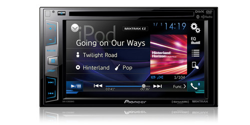 "Pioneer DVD Receiver with 6.2"" Display"