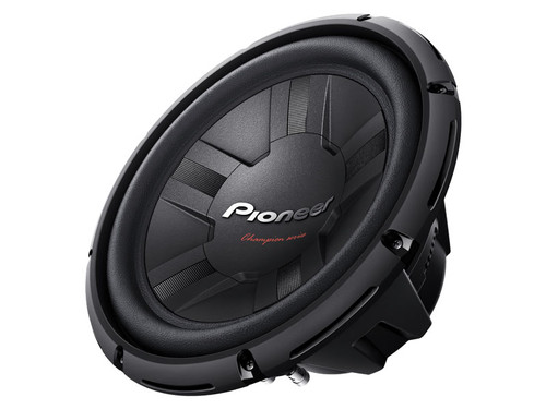 "Pioneer 12"" Champion Series PRO Subwoofer with Dual 4 Ohm Voice - Coils TS-W311D4"