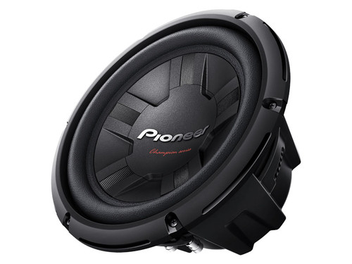"Pioneer 10"" Champion Series Subwoofer with Single 4 Ohm Voice Coil"