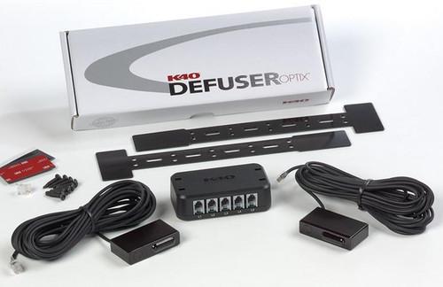 K40 Electronics Laser Defusers G5 Single Laser Defuser with License Plate Frame