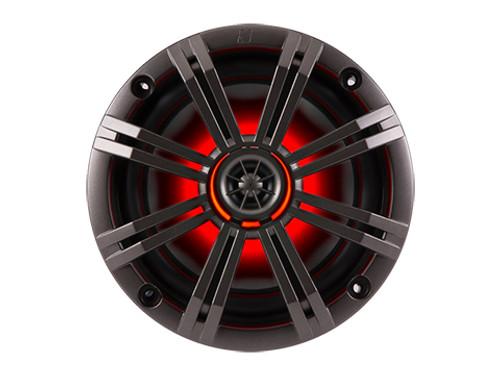 Kicker KM 6.5 inch 4 Ohm LED Lit Coaxial Speaker
