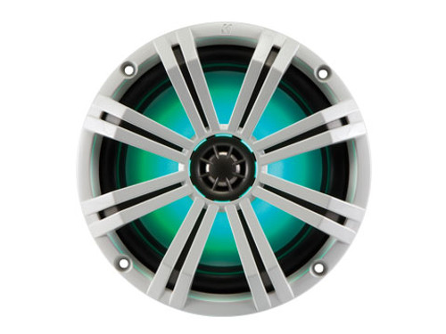 Kicker KM 8 inch 4 Ohm LED Lit Coaxial Speaker