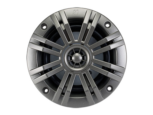 Kicker KM 4 inch 2 Ohm Coaxial Marine Audio Speaker