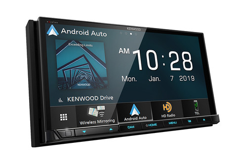 "Kenwood Excelon 6.95"" DVD Receiver with Bluetooth & HD Radio"
