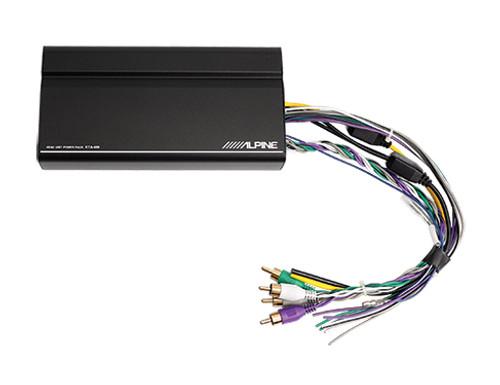 Alpine 4-Channel Power Pack Amplifier KTA-450