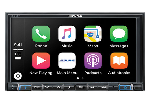Alpine 7-Inch Mech-Less Audio/Video Receiver