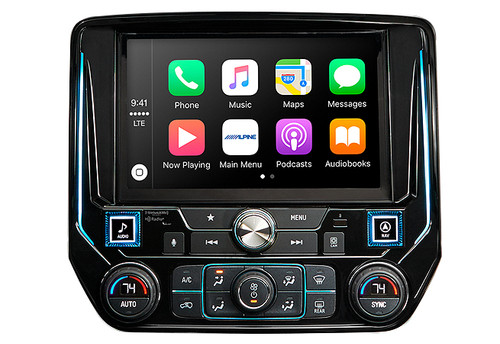 Alpine 9-Inch Restyle Mech-Less In-Dash for GM