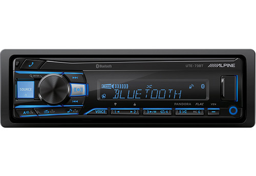 Alpine Advanced CD/USB Receiver With Advanced Bluetooth