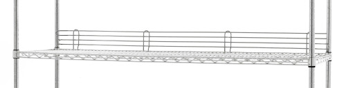 "Olympic JL60-4C Stackable Shelf Ledge, 60"""