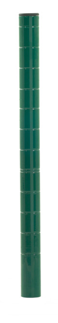 Olympic J13UK Mobile-Ready Wire Shelving Post, Green Epoxy, 13""