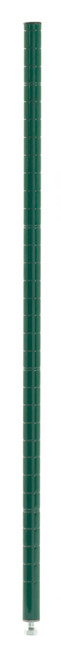 Olympic J33K Stationary Wire Shelving Post, Green Epoxy, 33""