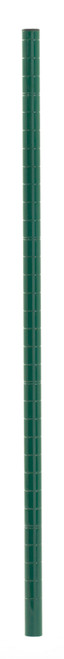 Olympic J33UK Mobile-Ready Wire Shelving Post, Green Epoxy, 33""