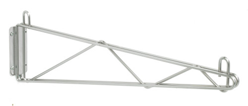 Olympic J1WD24C Direct Wall Mount, Single Support, Chrome, 24""