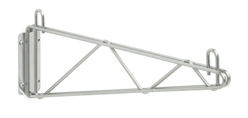 Olympic J1WD18C Direct Wall Mount, Single Support, Chrome, 18""