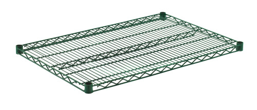 "Olympic J2436K Wire Shelf, Green Epoxy, 24"" x 36"""