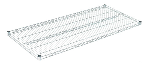 "Olympic J2454C Wire Shelf, Chromate, 24"" x 54"""