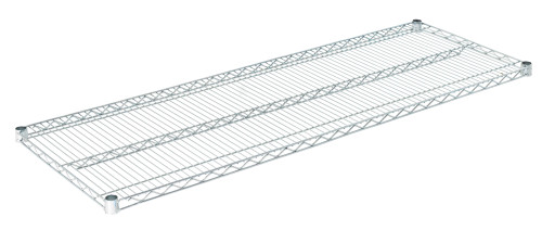 "Olympic J2160C Wire Shelf, Chromate, 21"" x 60"""