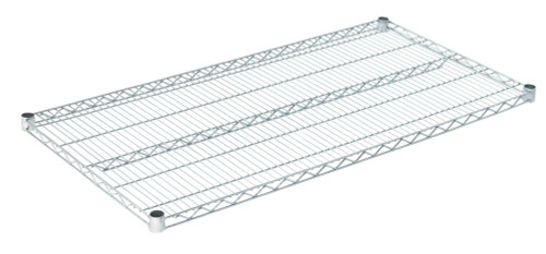 "Olympic J2448C Wire Shelf, Chromate, 24"" x 48"""