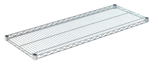"Olympic J1848C Wire Shelf, Chromate, 18"" x 48"""