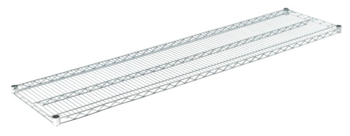 "Olympic J1872C Wire Shelf, Chromate, 18"" x 72"""