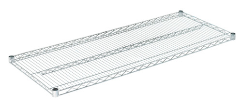 "Olympic J2154C Wire Shelf, Chromate, 21"" x 54"""