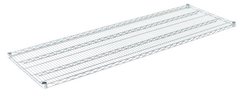 "Olympic J2472C Wire Shelf, Chromate, 24"" x 72"""