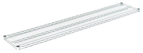 """Olympic J1472C Wire Shelf, Chromate, 14"""" x 72"""""""