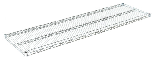"Olympic J2172C Wire Shelf, Chromate, 21"" x 72"""