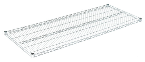 "Olympic J2460C Wire Shelf, Chromate, 24"" x 60"""