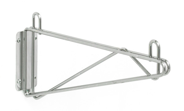 Olympic J1WD14C Direct Wall Mount, Single Support, Chrome, 14""