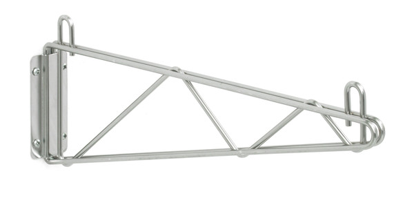 """Olympic J1WD18C Direct Wall Mount, Single Support, Chrome, 18"""""""