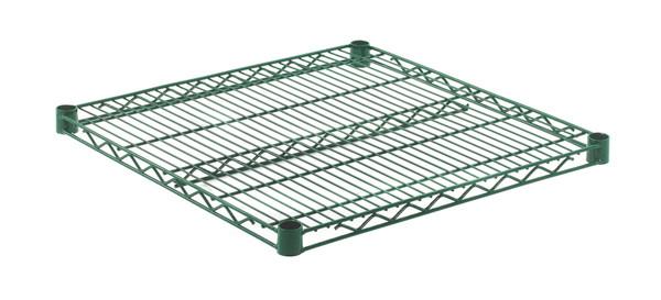 """Olympic J2424K Wire Shelf, Green Epoxy, 24"""" x 24"""""""