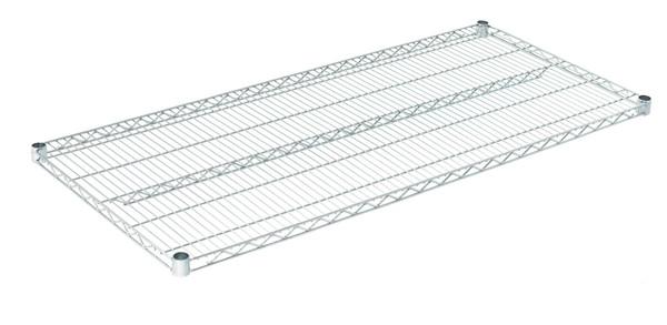 """Olympic J2454C Wire Shelf, Chromate, 24"""" x 54"""""""